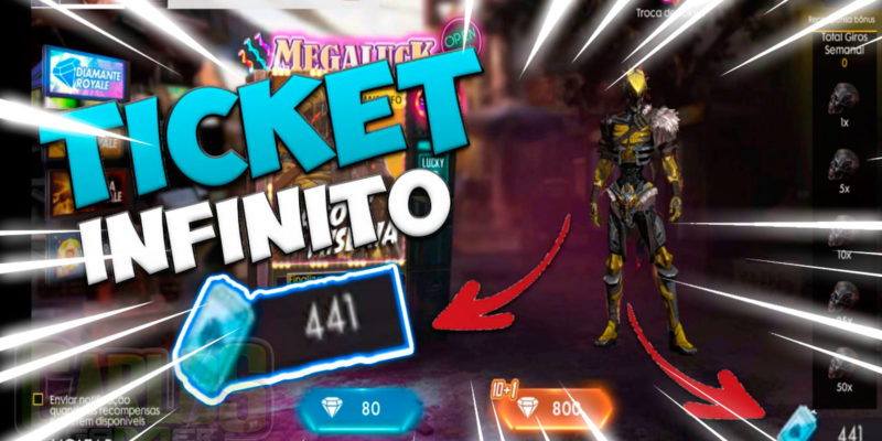 NOVO BUG DE TICKET INFINITOS! – DIAMANTES  GRÁTIS! Free Free Fire Bugs