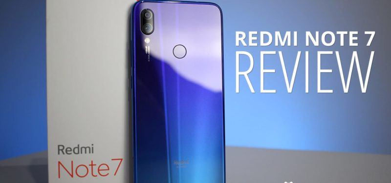 REDMI NOTE 7 – REVIEW
